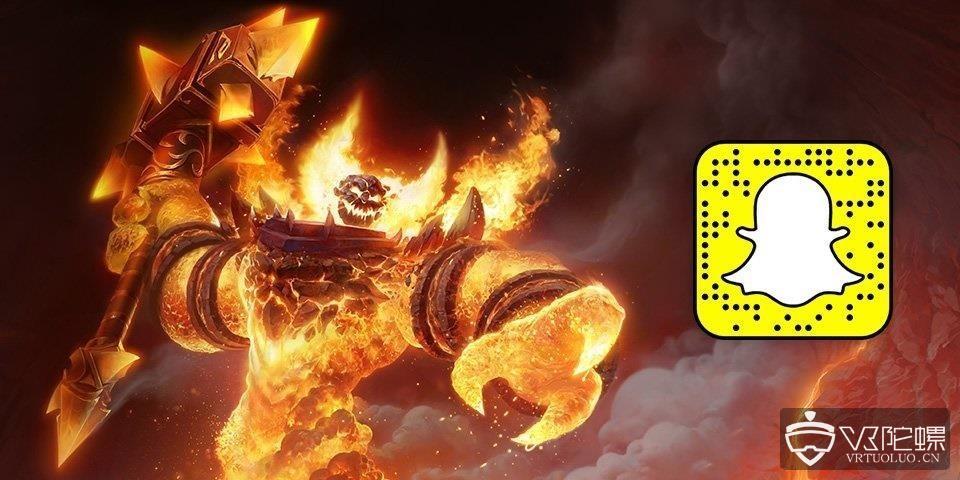 为庆祝《魔兽世界》15周年及怀旧服,暴雪通过Snapchat推出魔兽AR滤镜
