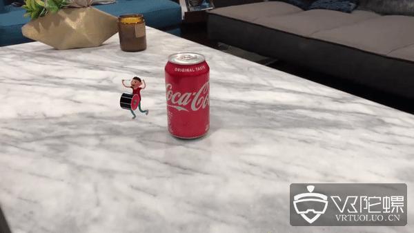 可口可乐公司引入AR营销,扫描罐身查看动画短篇故事