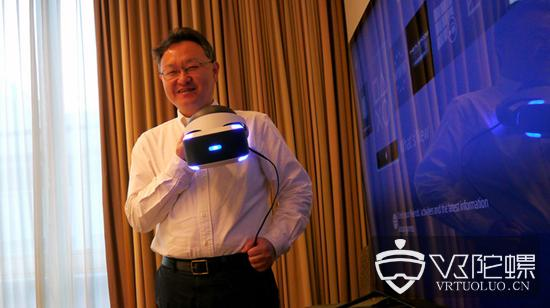 """索尼公司吉田修平称:""""人类大脑正在习惯VR"""""""