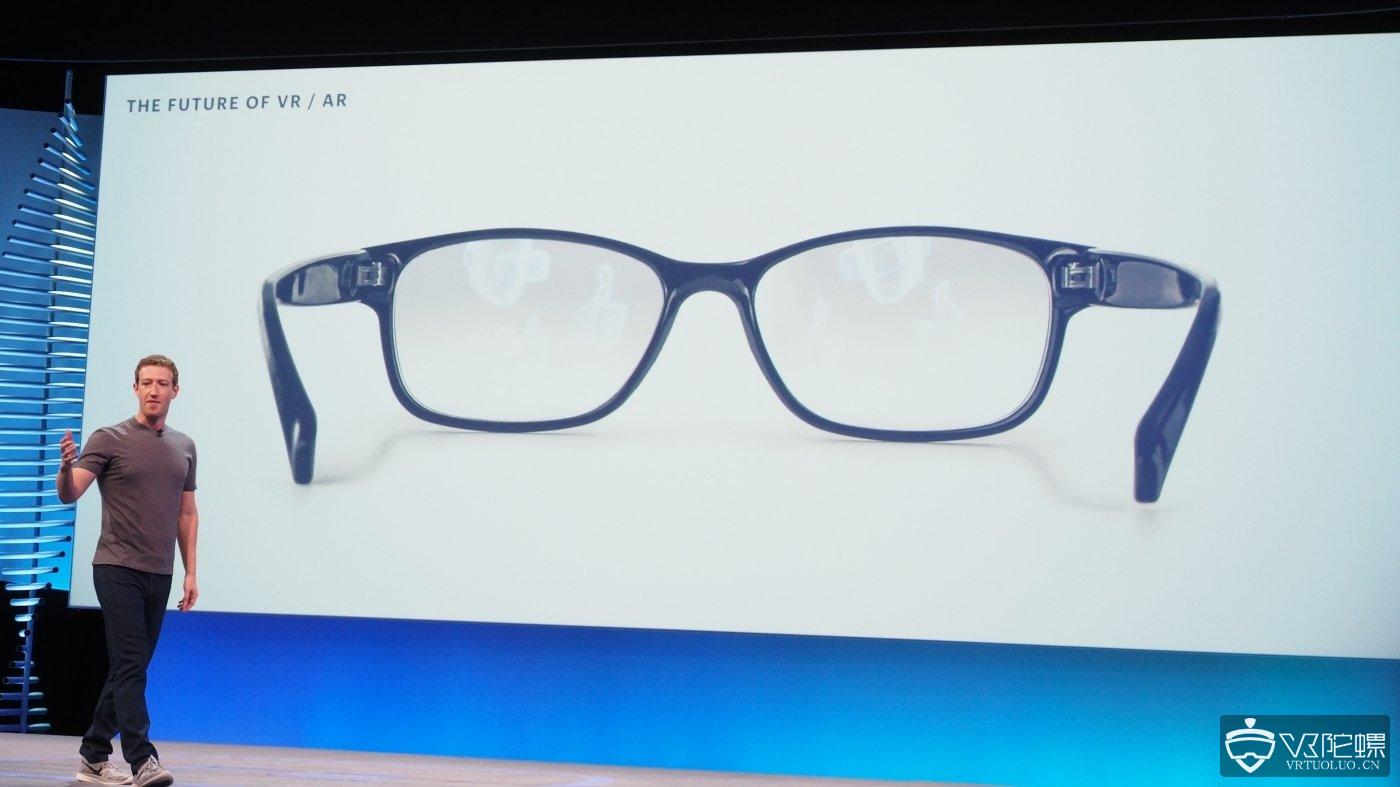 传Facebook与雷朋母公司Luxottica合作研发两款AR眼镜