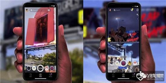 传Facebook与Luxottica合作研发两款AR眼镜;Snapchat推AR户外广告牌