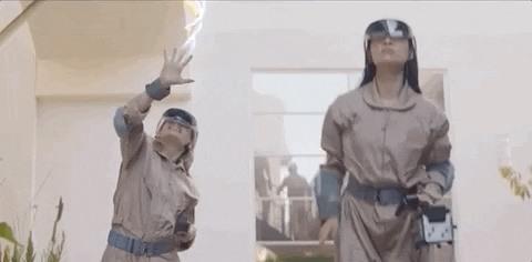 索尼推出《捉鬼敢死队》线下多人AR游戏体验,使用索尼AR头显?