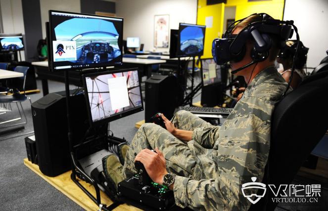 美国空军学院为飞行员提供VR培训
