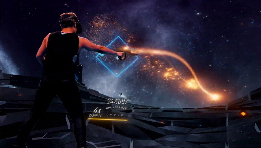 VR节奏音游《Audica》将于11月5日登陆PSVR