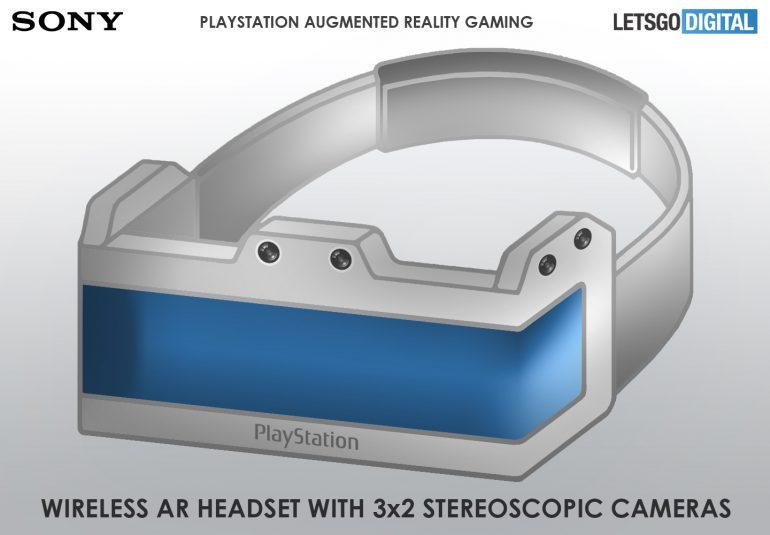 索尼AR专利曝光:配备三组摄像头,可连接PS游戏主机