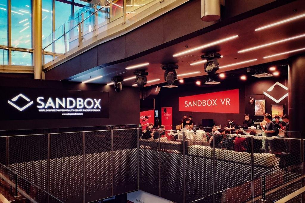 香港VR线下娱乐品牌Sandbox VR获1100万美元融资