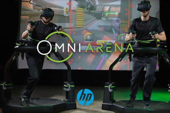 惠普和Virtuix赞助VR电子竞技锦标赛