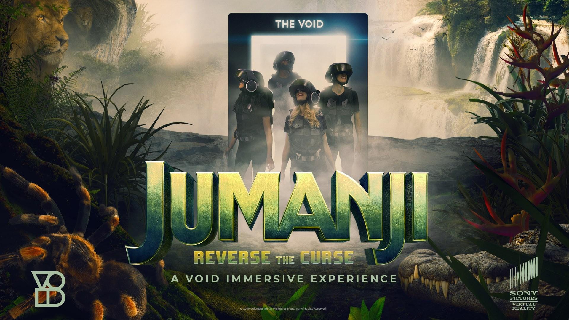 索尼与The VOID合作打造《Jumanji: Reverse the Curse》VR 游戏
