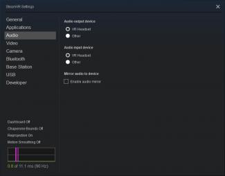 SteamVR更新:改进VR设备音频设置故障问题