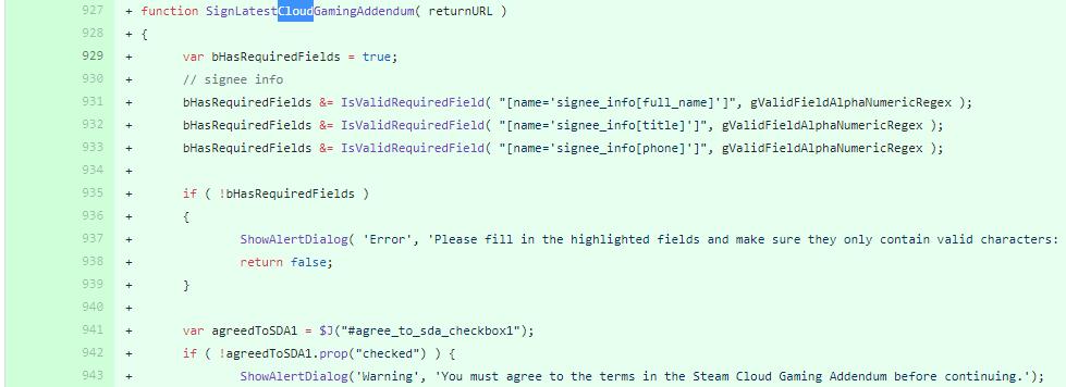 Steam代码揭露Valve正在开发云游戏服务