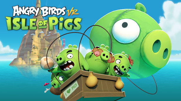 《愤怒的小鸟:猪岛VR》将推出自定义关卡生成器