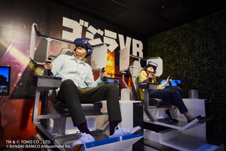 万代南梦宫线下VR游戏《哥斯拉 VR》入驻英国线下体验店