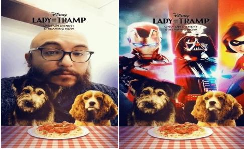 迪士尼合作Snapchat推出《淑女与流浪汉》电影AR宣传