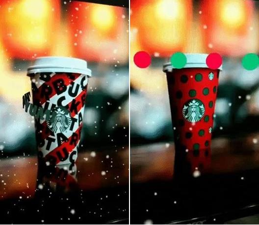 星巴克为假日活动举行Instagram AR广告营销