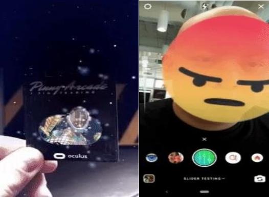 Facebook为社交应用Instagram新增AR目标追踪功能