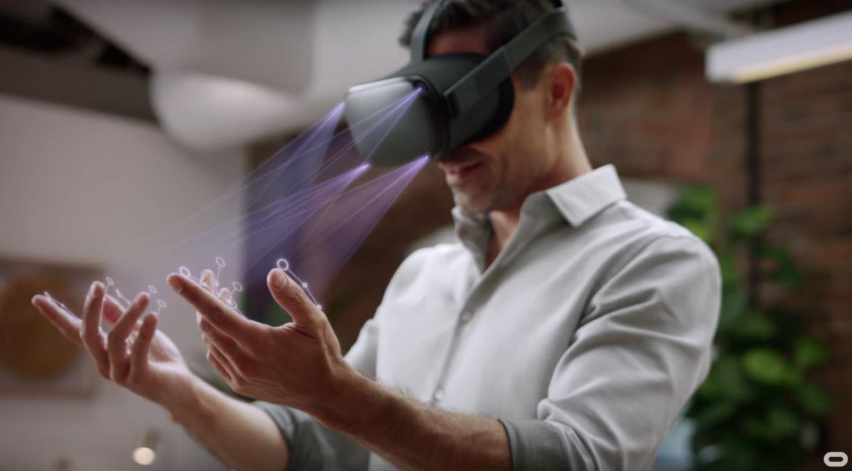 Oculus Quest手势识别固件已更新,SDK将于16日发布