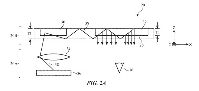 苹果全息成像技术专利,可帮助减轻AR头显重量