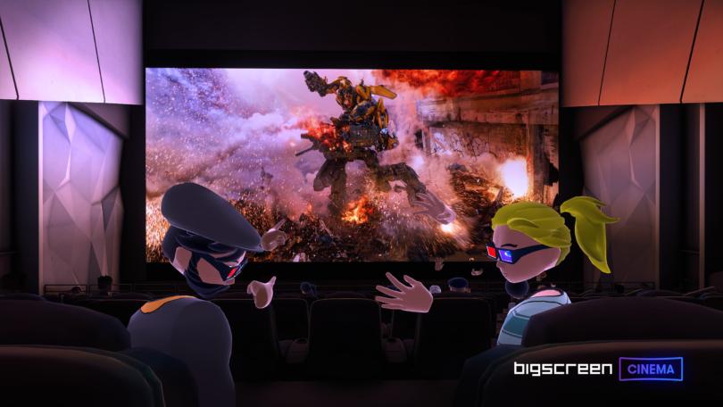 Bigscreen与Paramount达成合作,共享电影资源