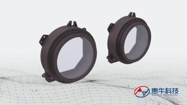惠牛科技发布超薄VR光学模组:厚度20mm,单目FOV105°