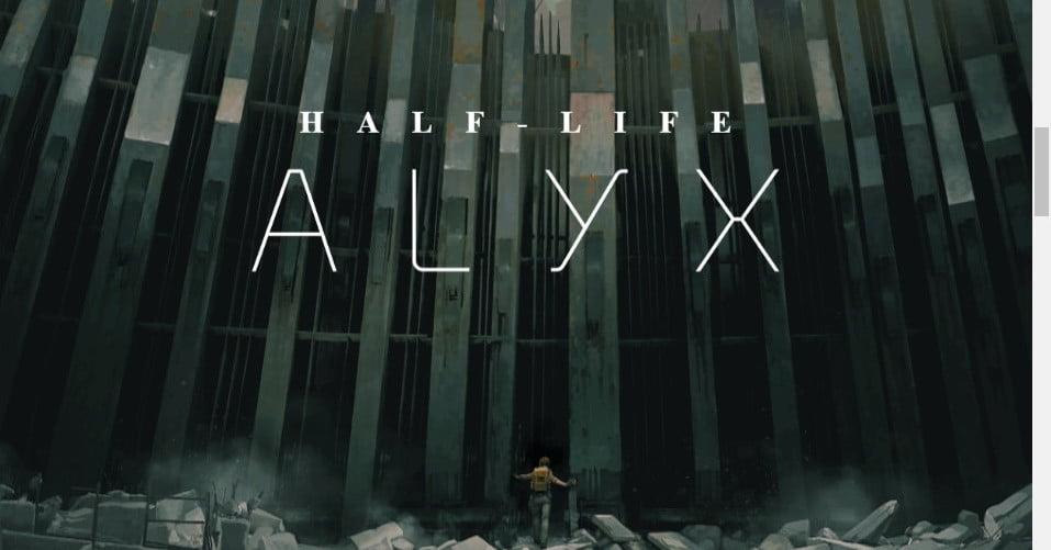 Valve:不排除推出PS VR版《半条命:Alyx》的可能