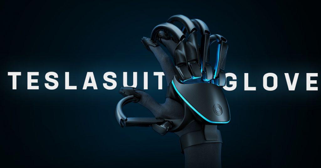 新闻资讯 Teslasuit在CES 2020之前公布新的VR手套