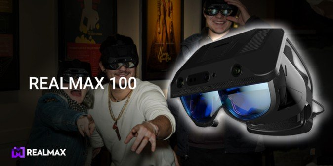 CES2020:100度视场角,REALMAX将展示最新REALMAX 100 AR头显