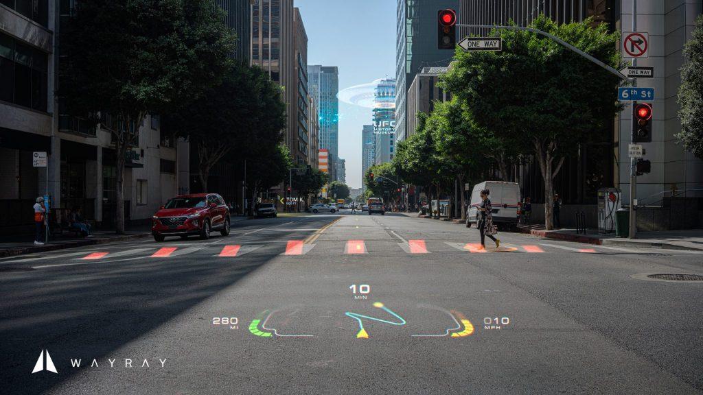 CES 2020:WayRay展示全新车用全息AR显示器