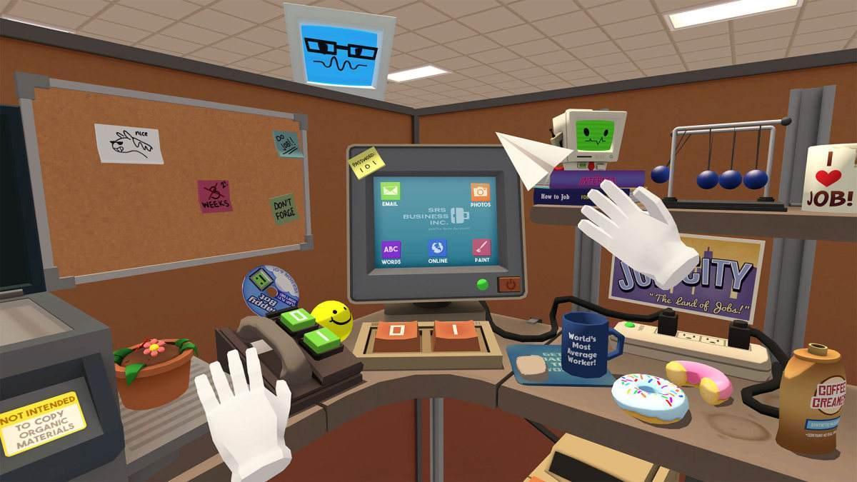 历时4年,VR游戏《Job Simulator》销量突破100万份