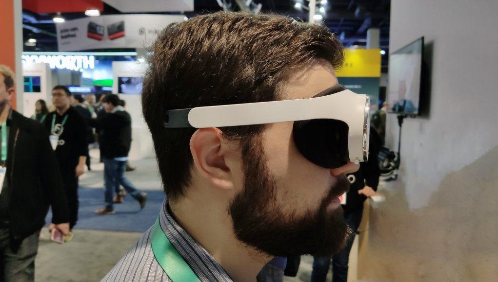 CES2020:Pico展示短焦头显Pico VR Glasses,重量仅为119克