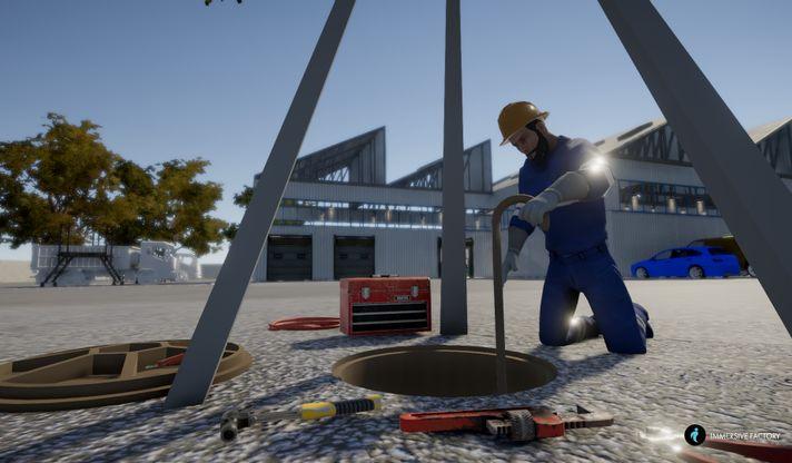Vive X的Immersive Factory融资85万英镑,用于 HSE的VR培训