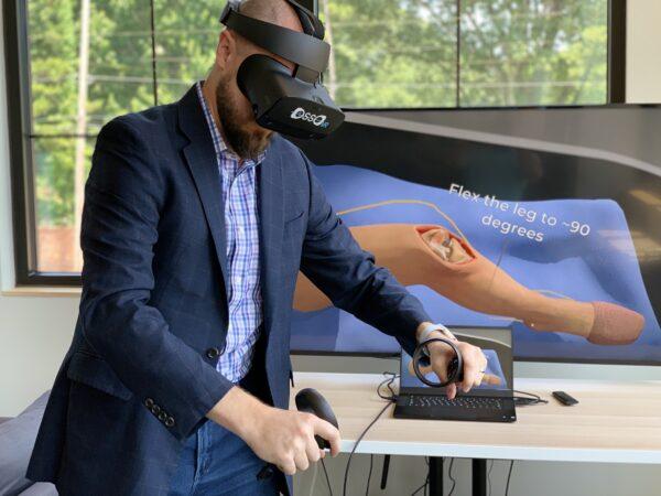 美国强生推VR医疗培训计划,将在美国投放150至200台Quest