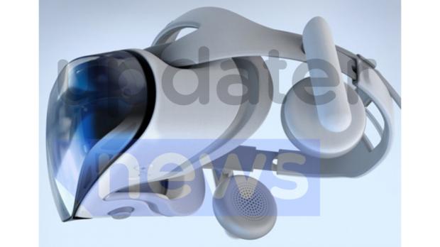 三星Odyssey 2020 MR头显设备图像遭泄漏,与专利图设计相一致