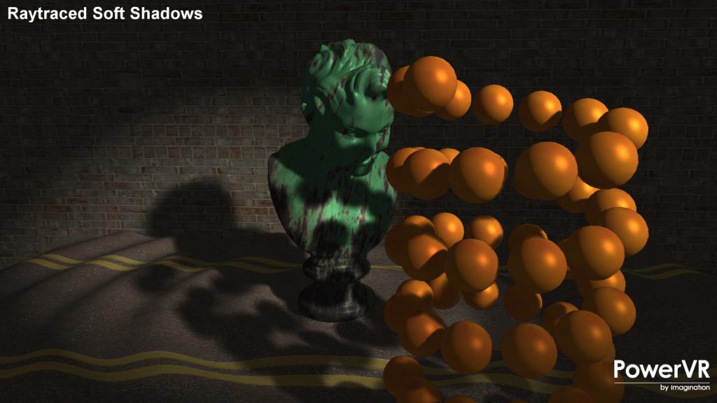 Raytraced Soft Shadows