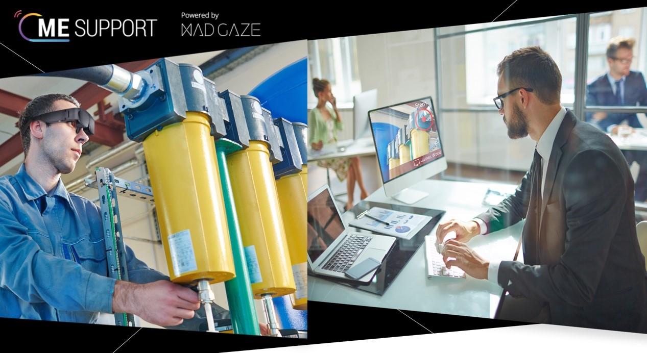 MAD Gaze 推出ME SUPPORT AR远程协助方案,非接触商业方案成新趋势