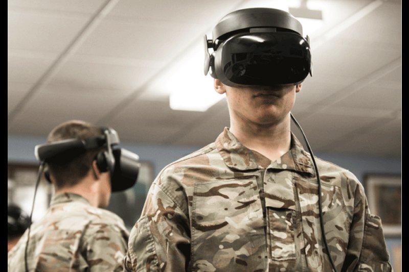 英国武装部队宣布将采用VR训练平台进行军事训练