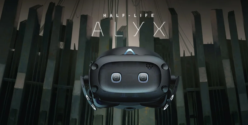 HTC宣布为Vive Cosmos Elite用户免费提供《Half-Life: Alyx》兑换码