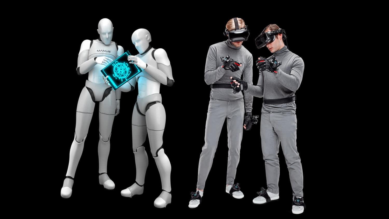 Manus VR公布全身跟踪技术解决方案Polygon