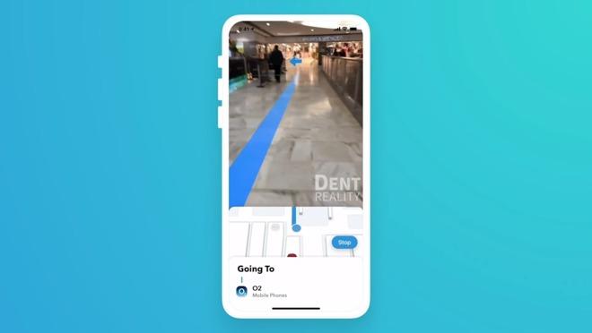 苹果与AR创企Dent Reality建立合作,将推动AR室内导航发展计划