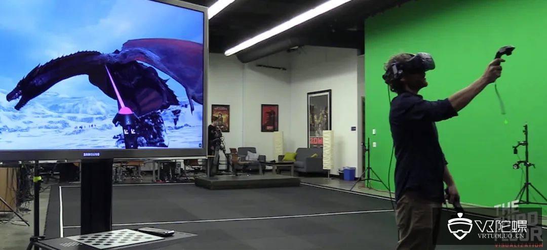 《权力的游戏》如何用VR进行虚拟制片?