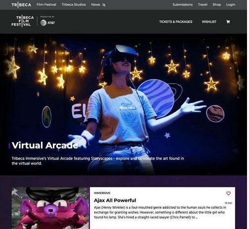 中国大陆唯一,VR动画作品《Ajax All Powerful》入围翠贝卡国际电影节