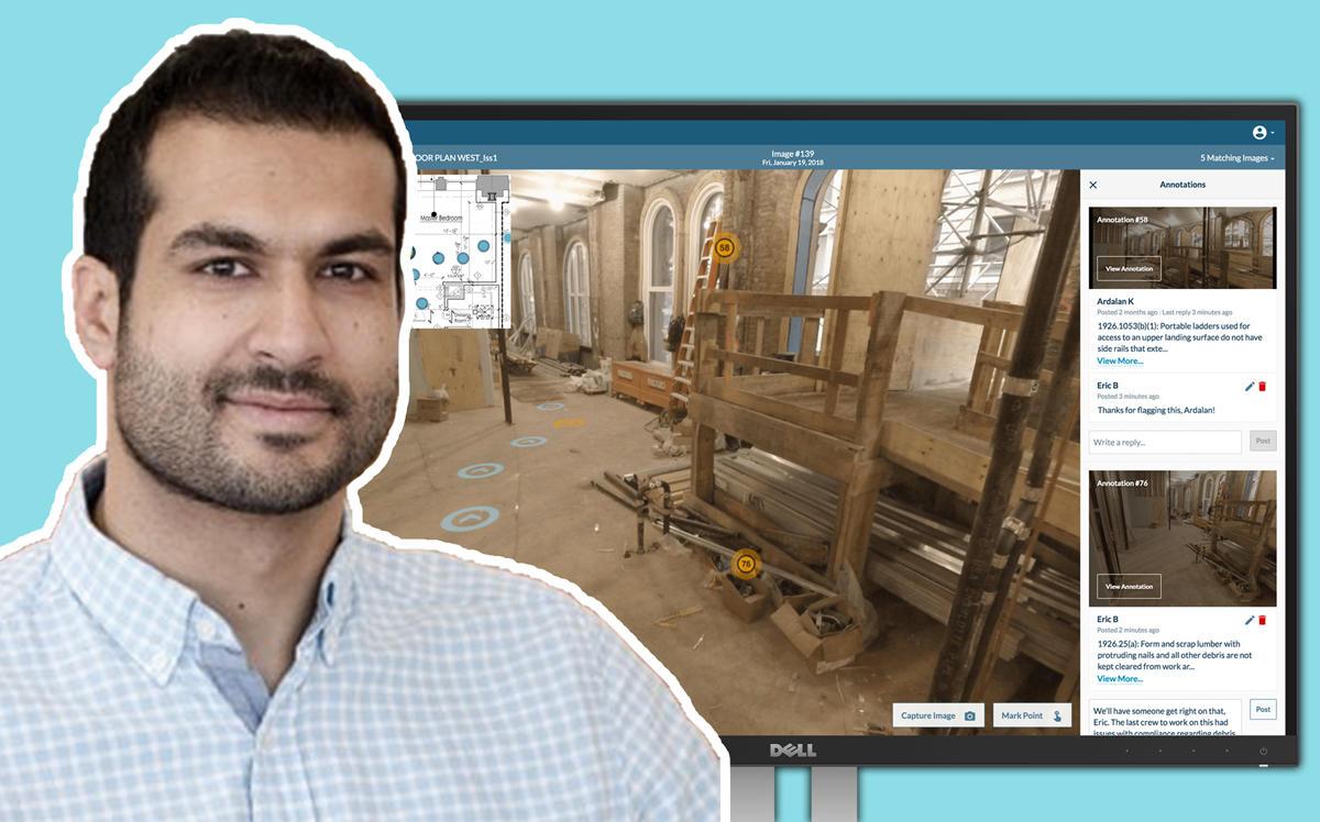 美国初创公司OnsiteIQ获450万美元A轮融资,用于建筑场景的全景和AI解决方案