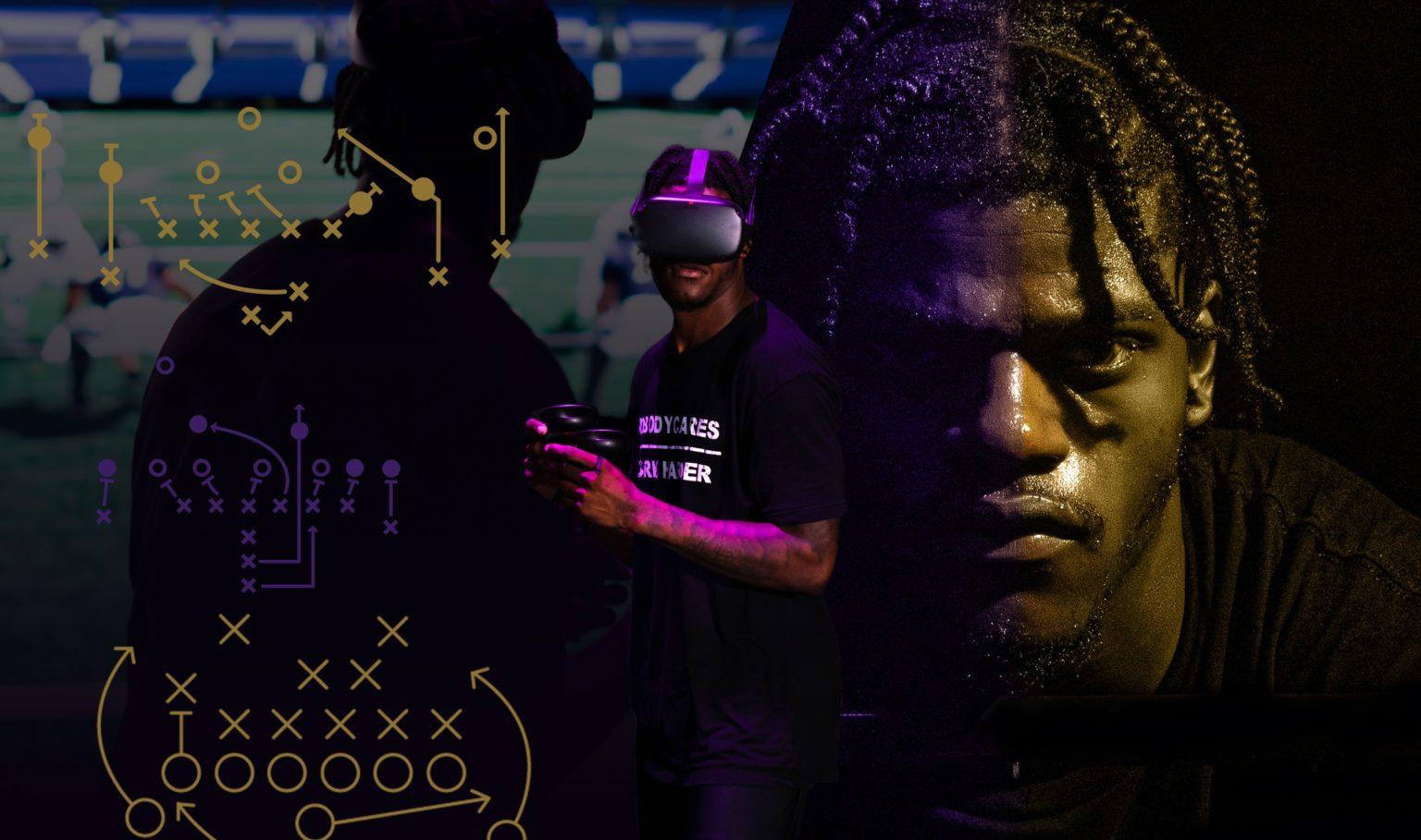 NFL职业球员拉马尔·杰克逊代言VR产品