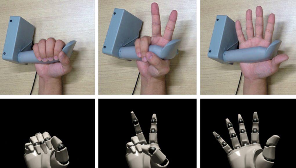 索尼研究人员推新VR控制手柄原型:具有手动追踪功能,采用关节式设计