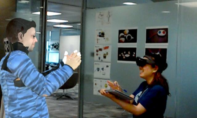 微软推在线会议虚拟机器人系统VROOM,可结合AR/VR协同办公