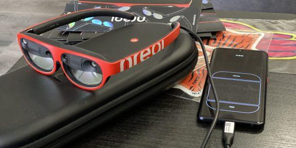 Nreal Light AR眼镜发布更新,支持多用户共享空间和WebXR