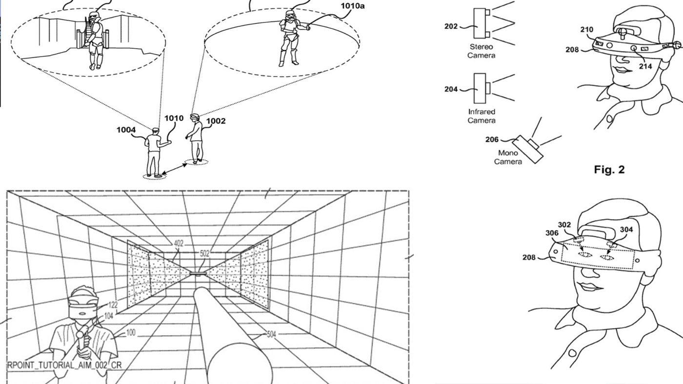索尼一系列VR专利曝光:带有共享虚拟空间、注视点追踪等功能的PSVR