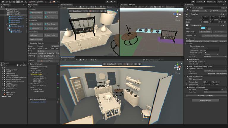 Unity将于6月1日推出AR制作工具MARS