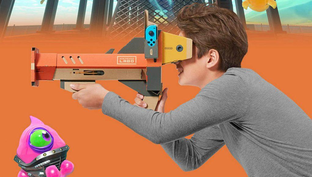 20美元Switch秒变VR游戏机,任天堂简易版Labo VR套件降价促销