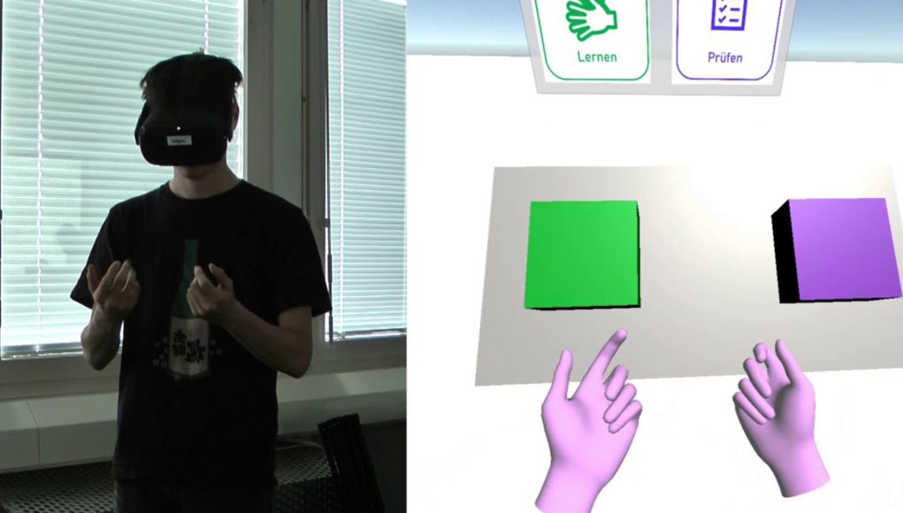Quest的手势控制得以让聋哑人在VR中学习基本手语