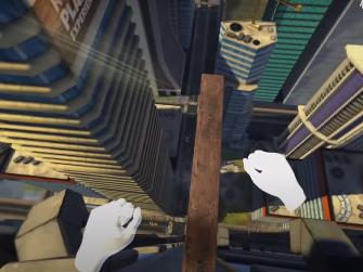 高空坠楼游戏《Richie's Plank Experience》Quest版支持手势追踪